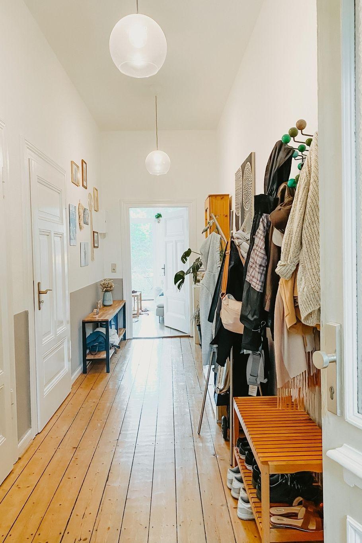 Unser Flur Mein Lieblingsraum Die Garderobe Ist In 2020 Altbau Wohnung Flur