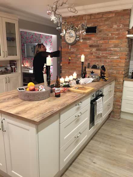 Küchen Ideen, Design, Gestaltung und Bilder - küche landhaus weiß