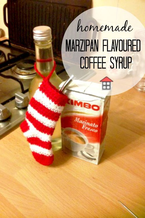 Marzipan Flavoured Coffee Syrup | Marzipan, Food gifts ...