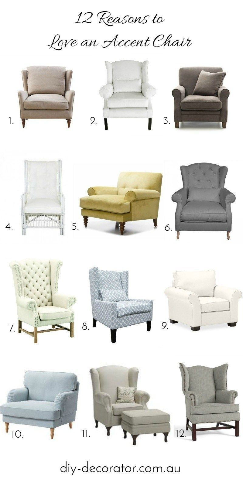 12 Reasons To Love Accent Chairs Diy Decorator Pink Tufted Accent Chair 21 Gorgeous Femin Accent Chairs For Living Room Upholstered Chairs Accent Chair Diy