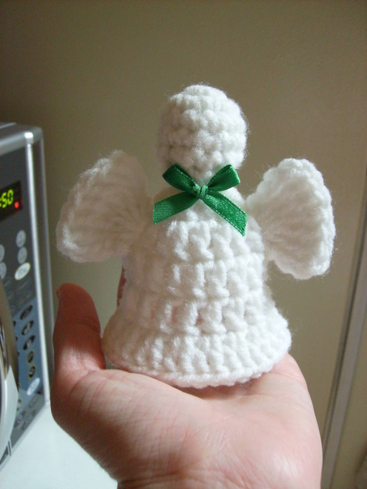Free Angel Bell Crochet Pattern - Orble | Crochet Holiday ...
