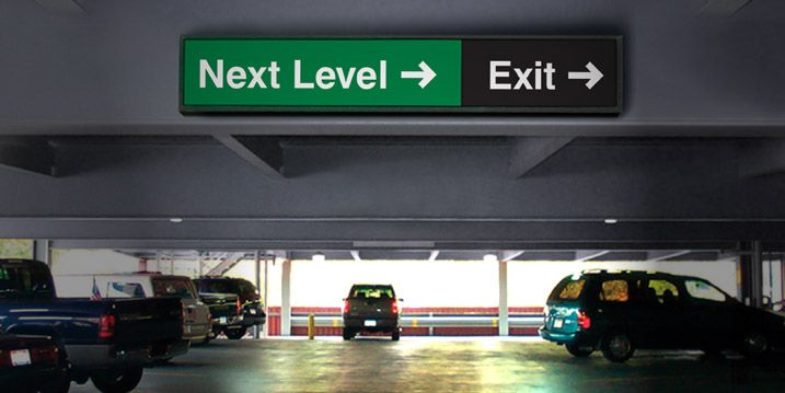 To Own A Parking Garage In A Frequented Section Of Town Would Bring Revenues Wayfinding Parking Garage The Secret Book