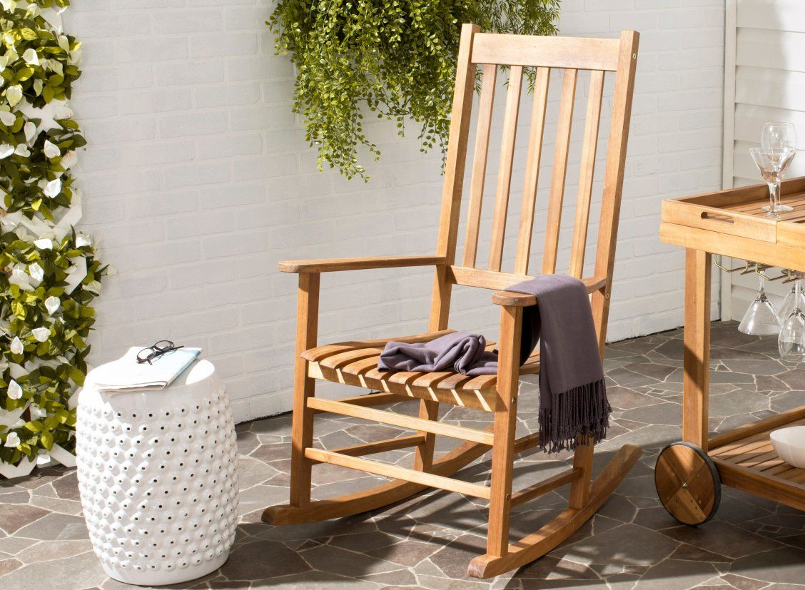 This classic Shasta outdoor rocking chair is a perennial favorite in