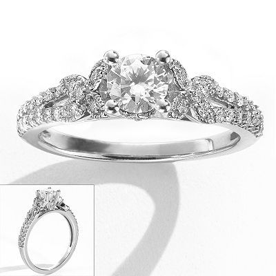 Simply Vera Wang Butterfly Ring