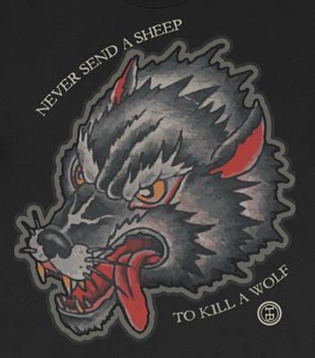 The Big Bad Wolf Traditionaltattoos Bad Wolf Tattoo Big Bad Wolf Wolf