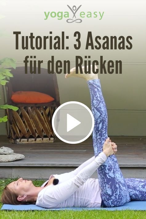 Yoga-Übungen gegen Rückenschmerzen. In diesem Video lernst..