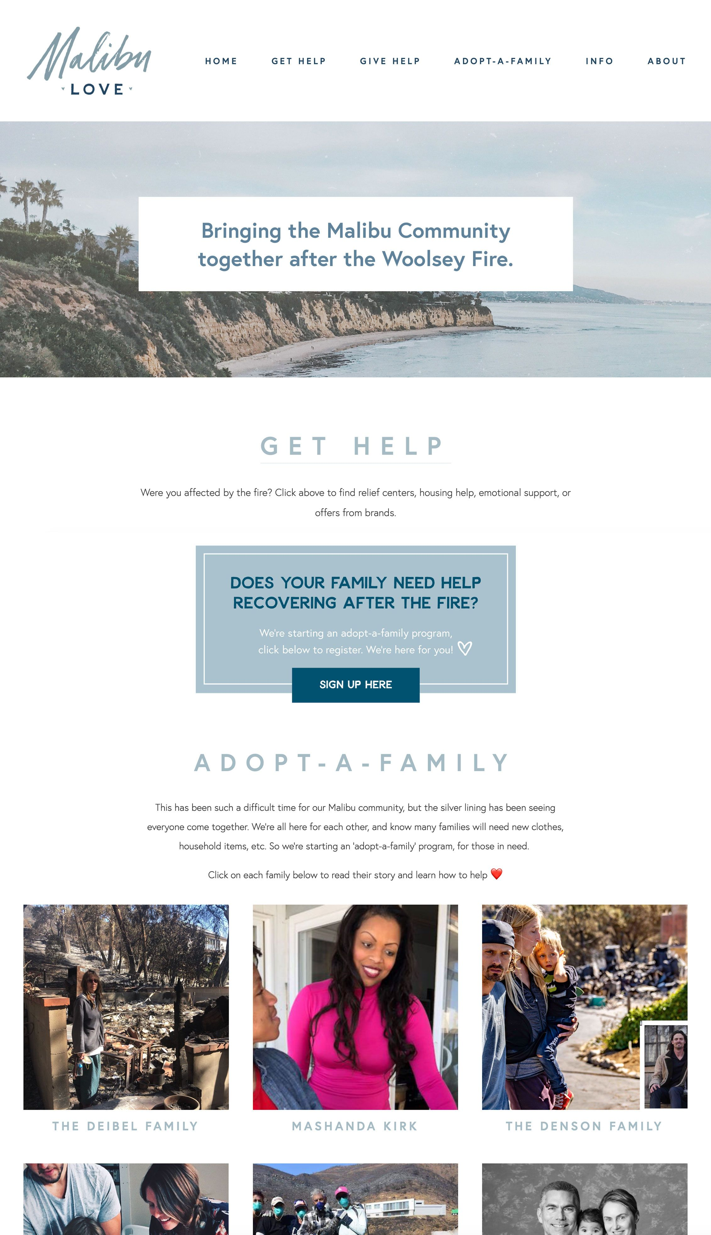 Malibu Love Branding Web Design Squarespace Graphic Design