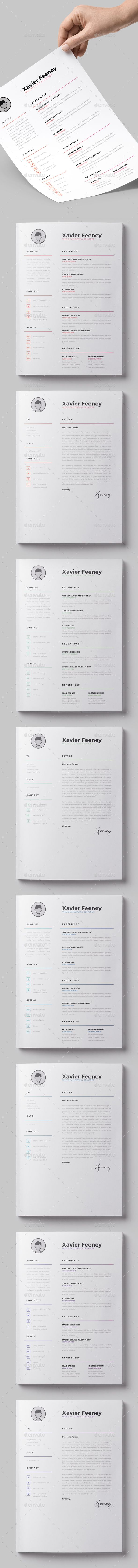 ResumeCoverletter  Resume Cv Logo Templates And Logos