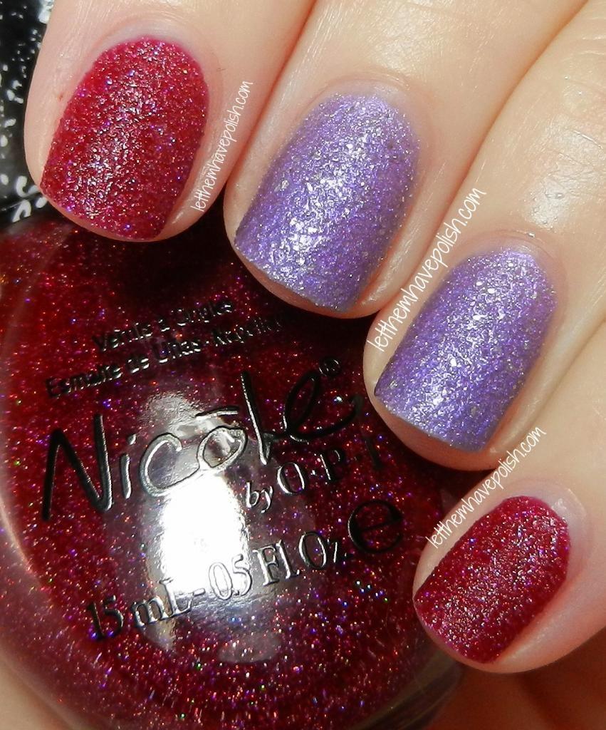 Nicole by O.P.I Gumdrops in My Cherry Amour   uñas   Pinterest