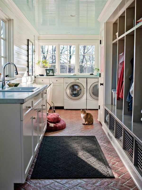 Laundry Room Mudroom Combination Emily Fisher Of Rock Paper Hammer