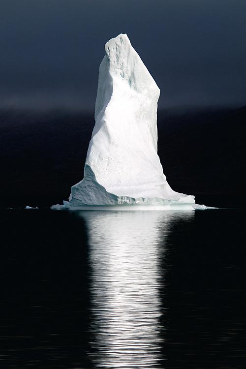 vurtual: Polar Pinnacle (by David C. Schultz) Iceberg in the Scoresbysund Fjord, Greenland.