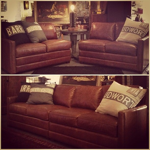 Merveilleux Drexel Heritage Leather Sofa $1295 Bench Designs, Industrial Furniture,  Cool Furniture, Basement Ideas