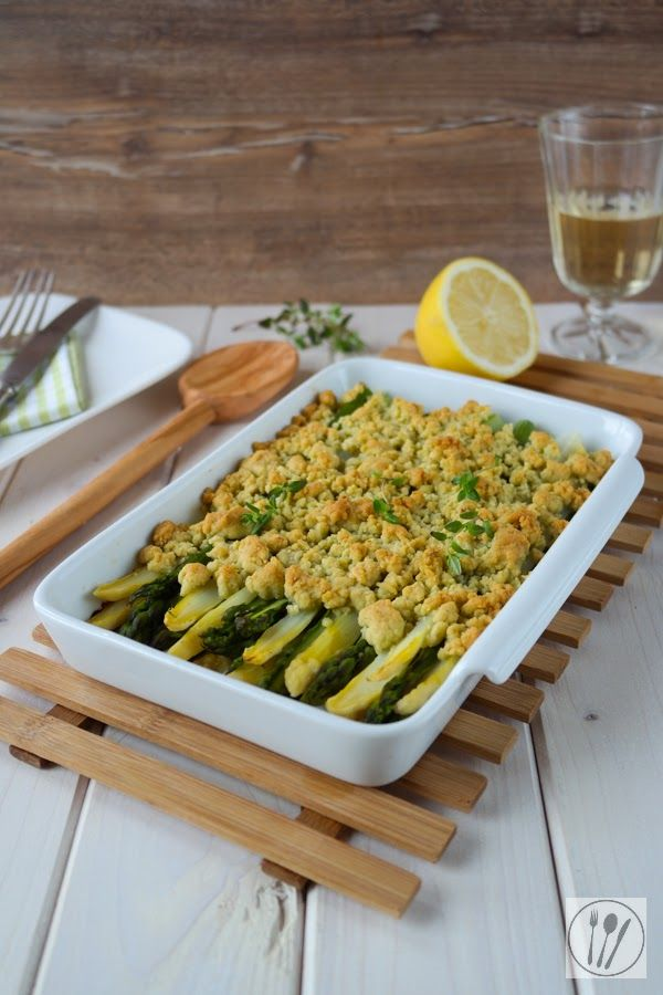 siaa s soulfood foodblog spargel crumble