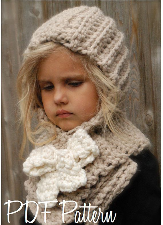CROCHET PATTERN - Hadyen Hood (Toddler, Child, Adult sizes ...