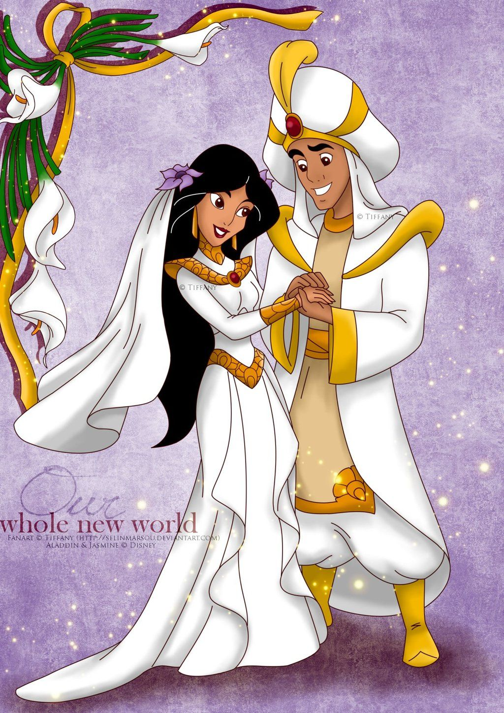 Whole New World By Selinmarsou On Deviantart Aladdin Jasmine Wedding