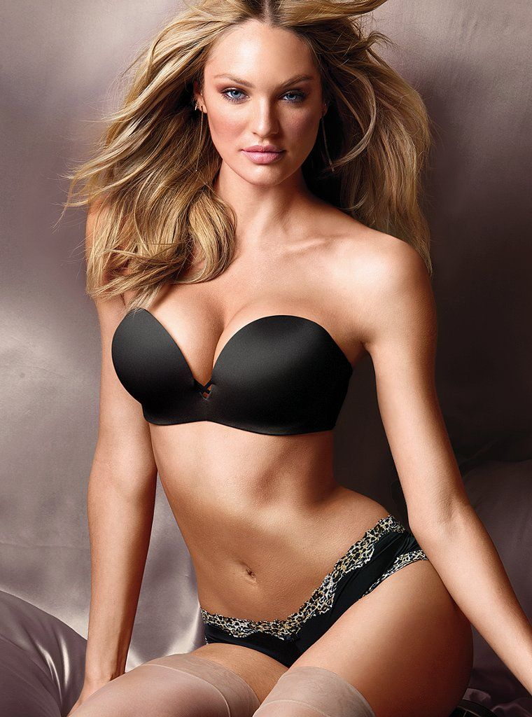 Hot Candice Swanepoel New Lingerie Shoot for Victoria's ...