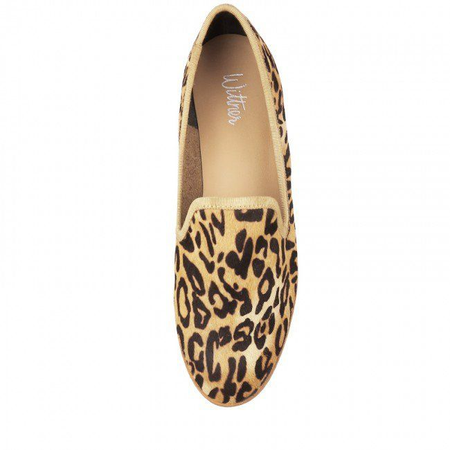 Wittner Quirky Loafer Leopard   Loafers