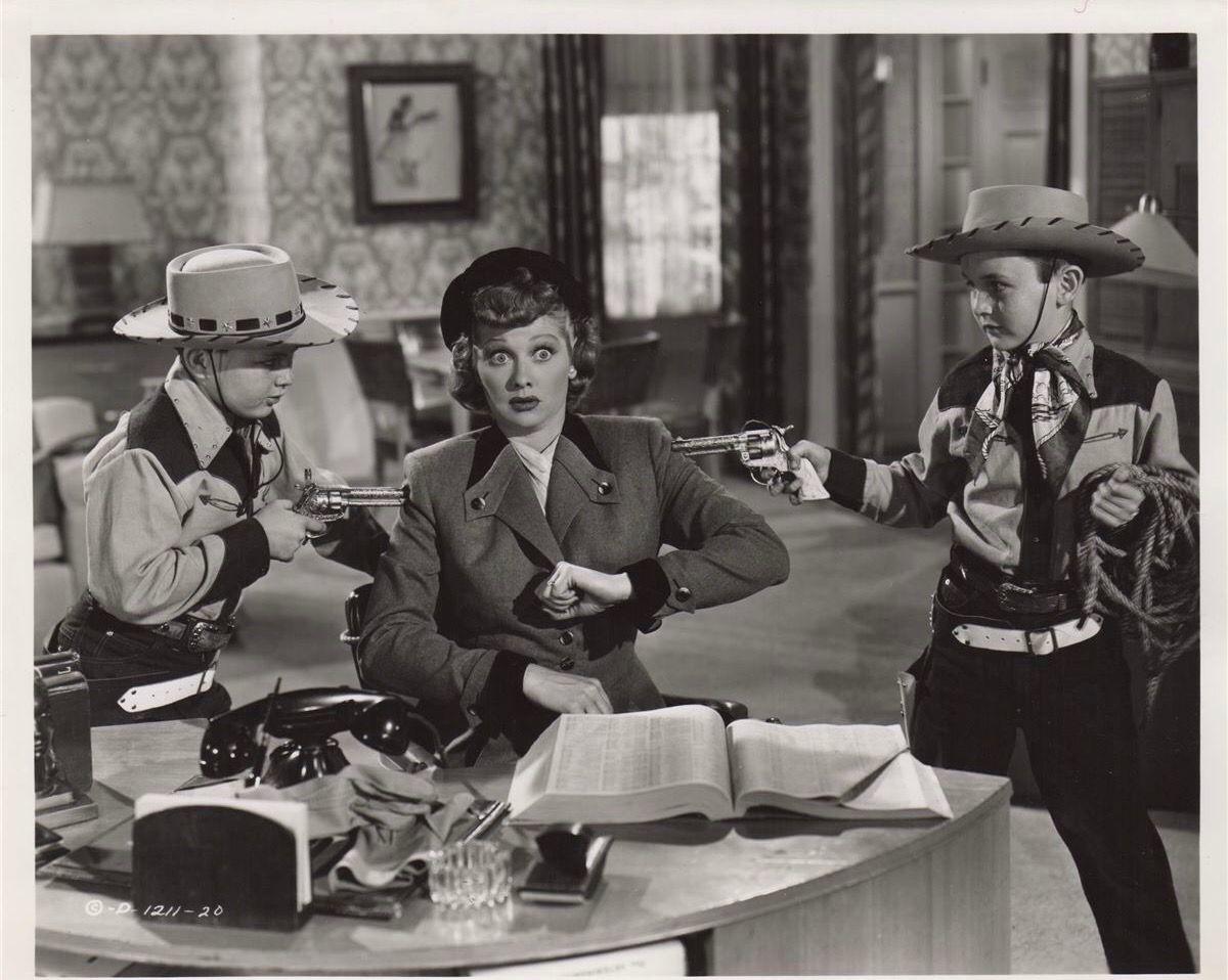 Classic Old Movie : The Fuller Brush Girl 1950