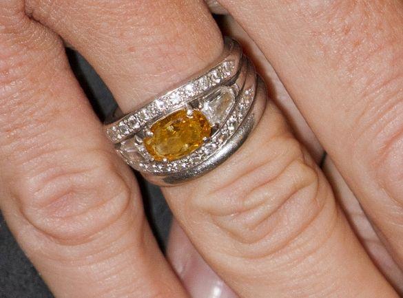 Queen Maximas engagement ring Royal tiarascrownsjewels
