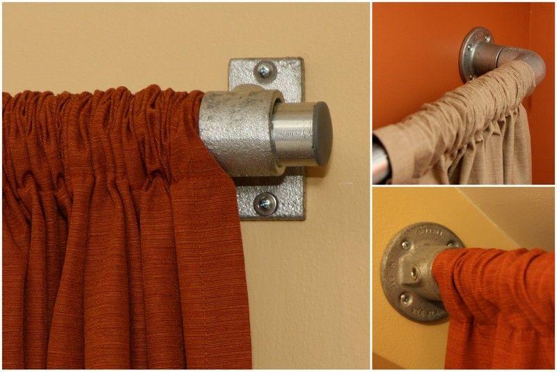 Best 25 Pipe Curtain Rods Ideas On Pinterest Ikea