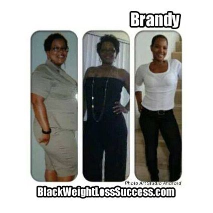 Brandy lost 131 pounds. Read her story.
