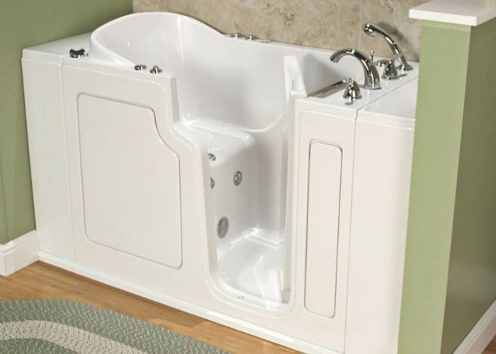 Walk In Tubs The Accessible Solution For Seniors With Images