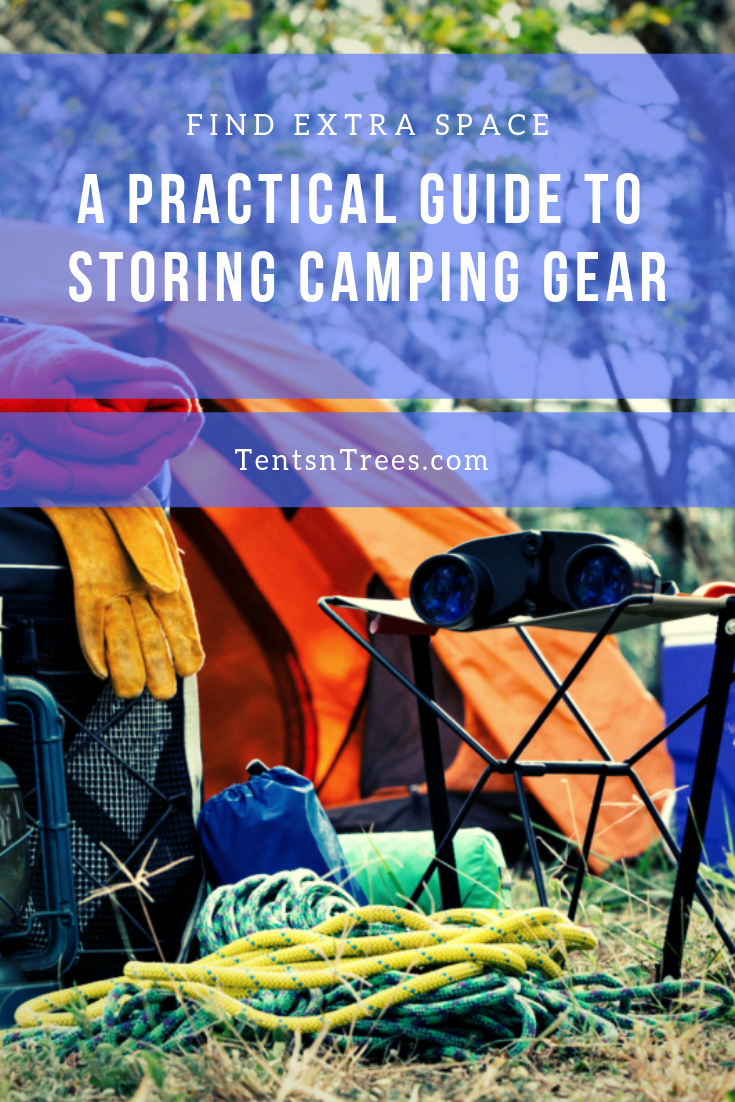 Photo of Use this simple guide to storing camping gear to make it easy to find storage sp…
