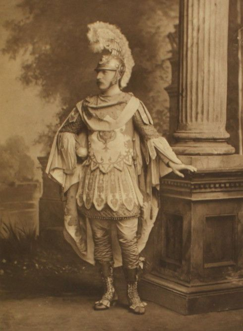 the Hon G Stanley as Maro - period of Louis XVI  Duchess of Devonshire's Jubilee Costume Ball of 1897