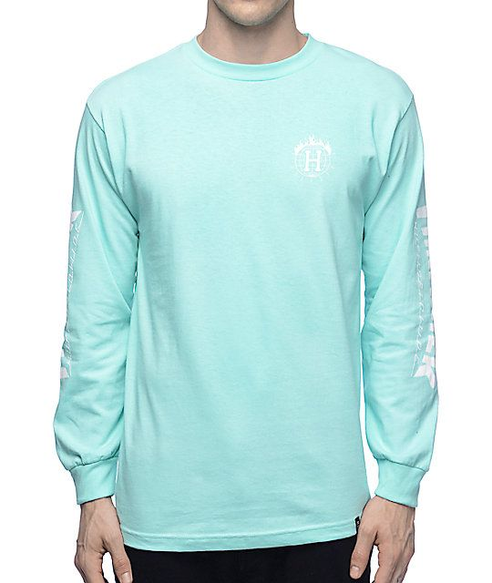 38b64b5391bb ... guys tees at Zumiez. Part of the limited edition HUF x Thrasher Tour De  Stoops collaboration collection. Premium long