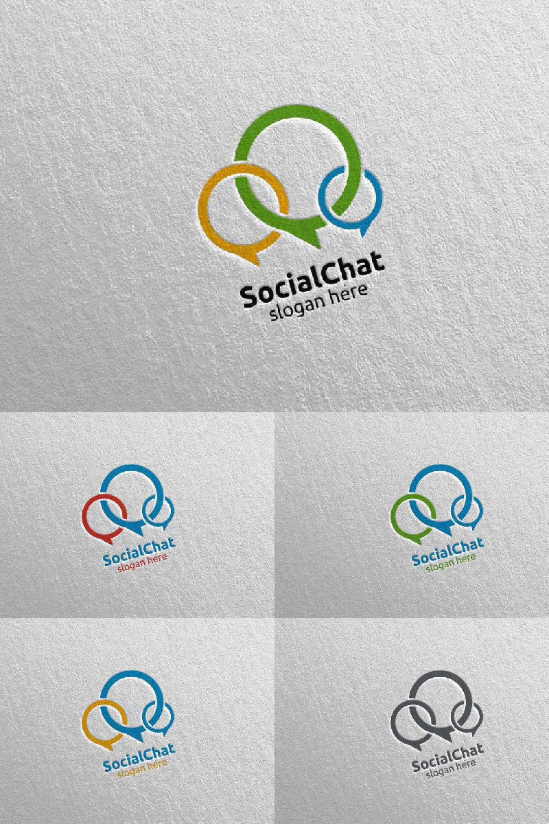 Community and Consulting 3 Logo Template 98214 in 2020
