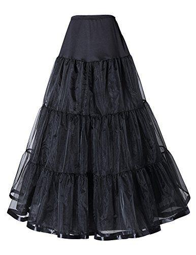VONJUCY Long Wedding Gown Underskirt Full Petticoat Slips //Price: $9.99 & FREE Shipping //     #onsale #lingeriemodel #glamourmodel #sexylingerie #beautylingerie #corset #beautygirls
