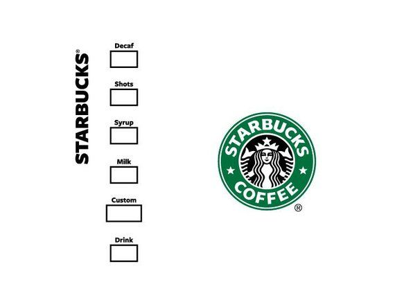 Starbucks Logo Cup Svg Make Your Own Custom Cup Tested In Design