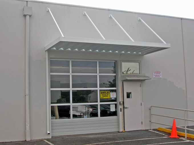 industrial-dock-bay-canopy-hanging-metal & industrial-dock-bay-canopy-hanging-metal | Canopies u0026 Awnings ...