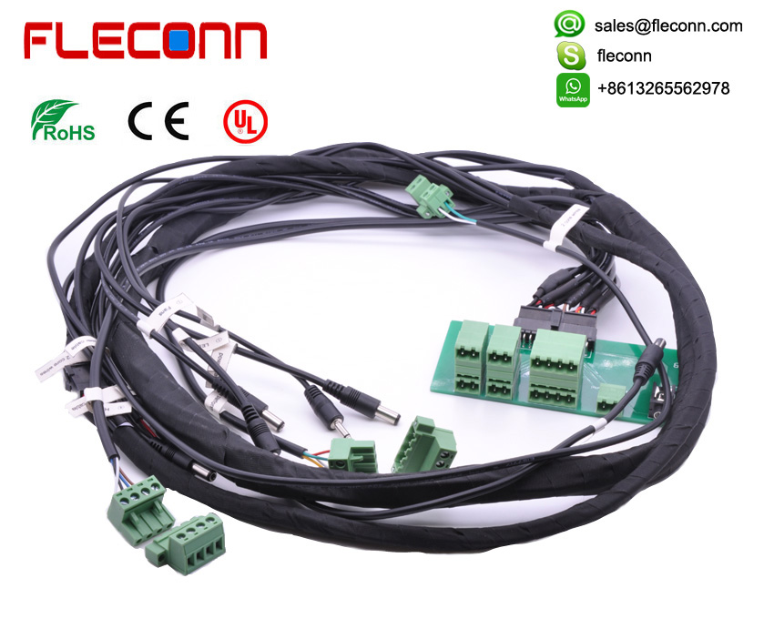 Custom Complex Wire Harness and Wiring Looms | Digital ... on cable carrier, wood loom, cable reel, multicore cable, carpet loom, cable dressing, cable management, crazy loom, cable loom, direct-buried cable,