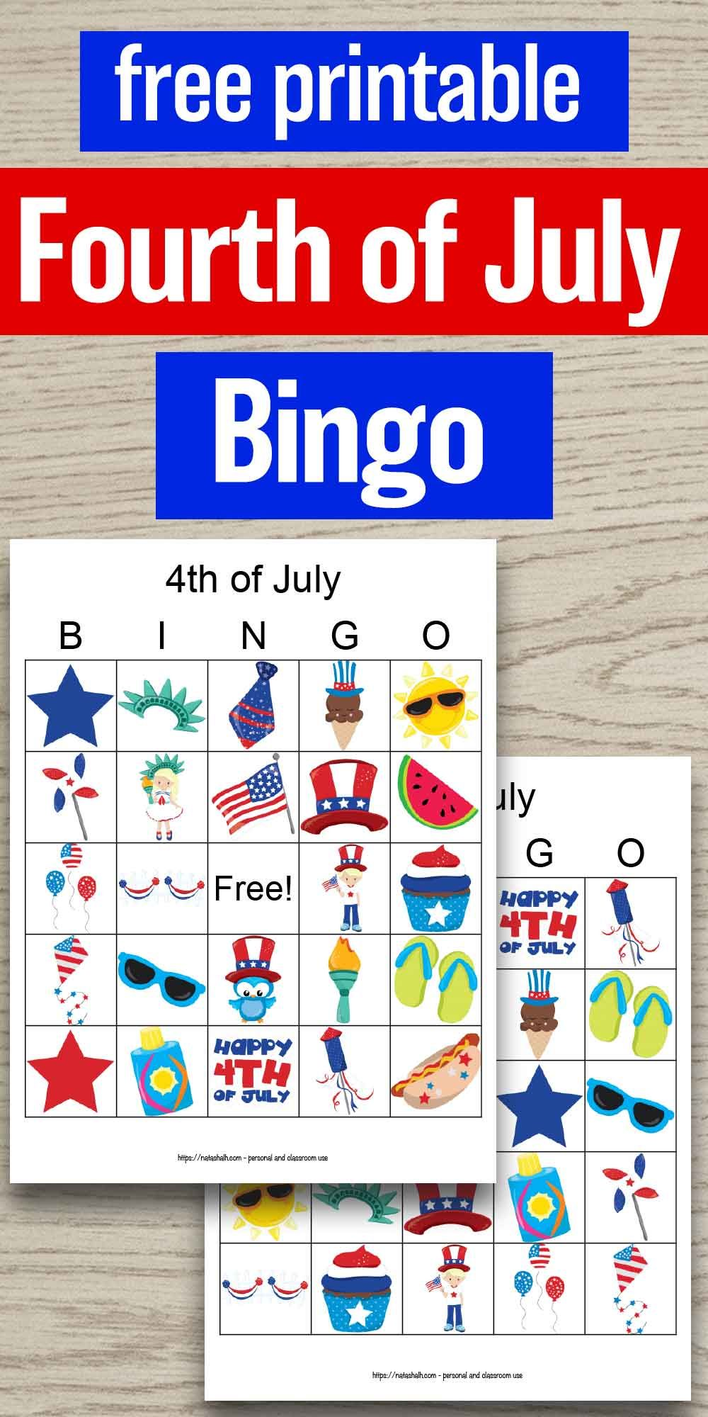 Free Printable Fourth Of July Bingo Business For Kids Fourth Of July Free Printables [ 2000 x 1000 Pixel ]