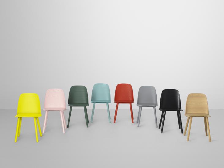 Muuto Nerd stol | Scandinavische woonkamers, Meubelontwerp
