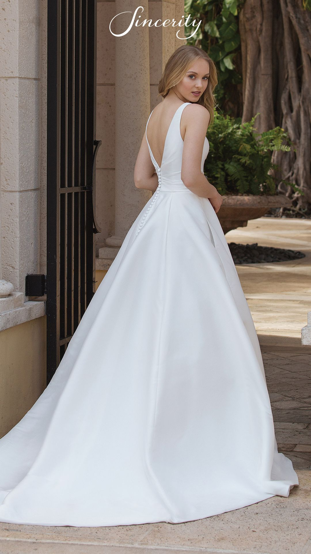 Style 44080 This On Trend Mikado Ball Gown Is Everything And More