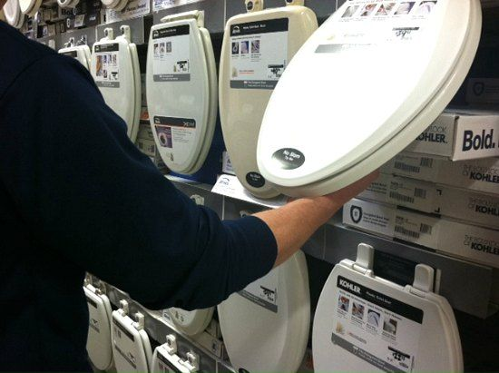 Shopping For New Toilet Seats at the Home Depot