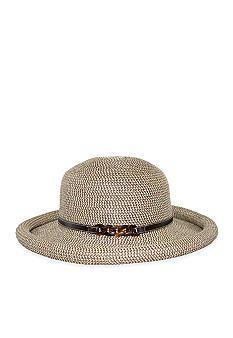 e0fb0a82b3f Nine West Packable Rollbrim Hat