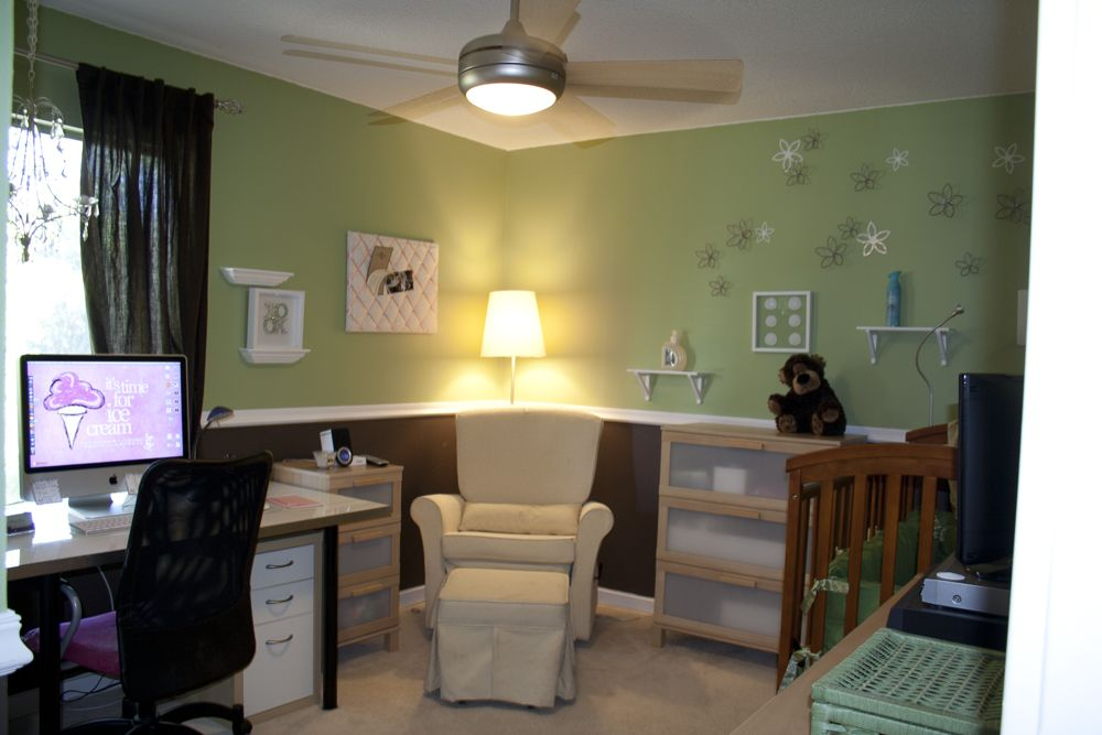 Best 25 nursery office combo ideas on pinterest dark for Bedroom office combo