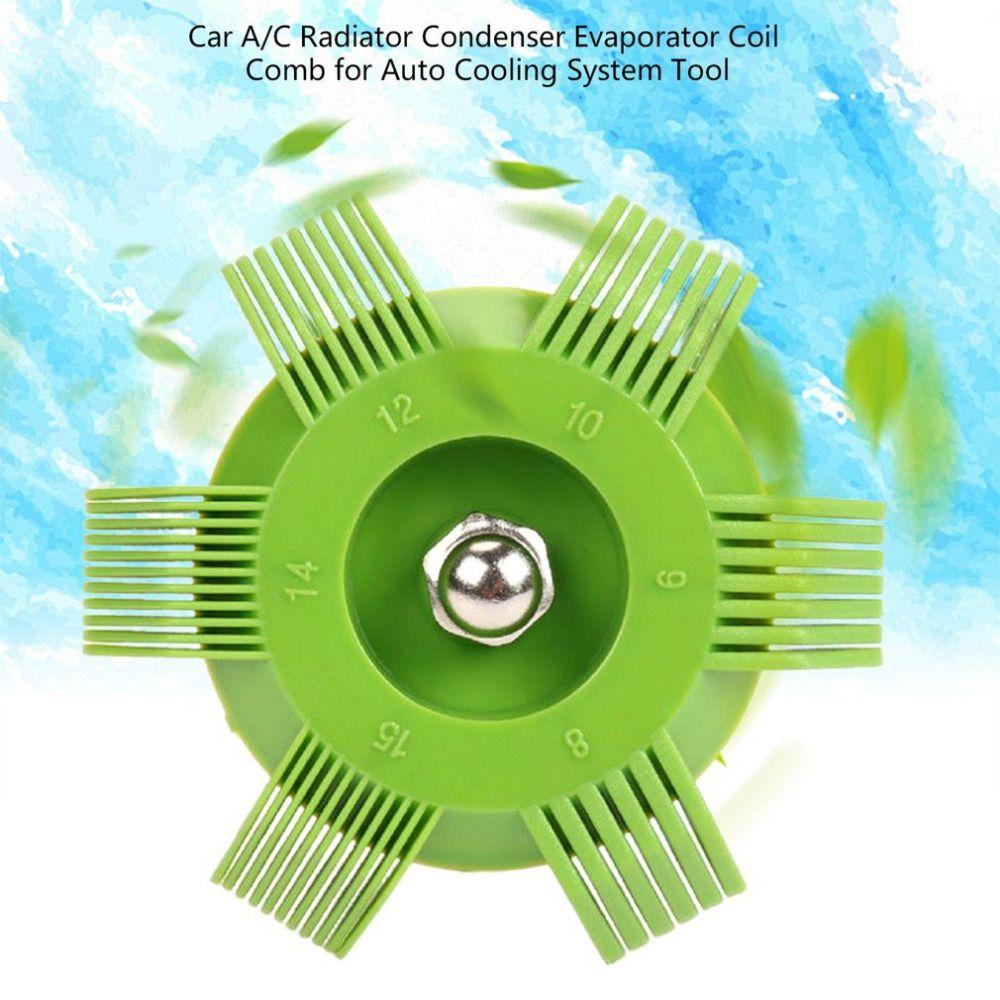 Universal Plastic Car A C Radiator Condenser Evaporator Fin Straightener Coil Comb For Auto Cooling System Tool Radiator Parts Cooling System Radiators