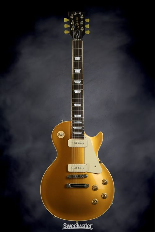 Gibson Les Paul Less Plus P-90 - Gold Top | Sweetwater.com