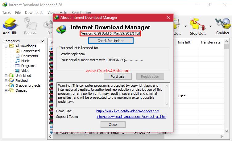 license for internet download manager idm