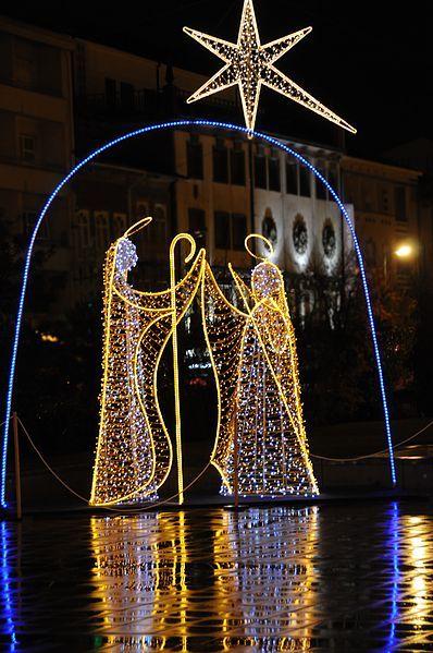 Christmas decor in Braga Portugal Portugal Pinterest - Luces De Navidad