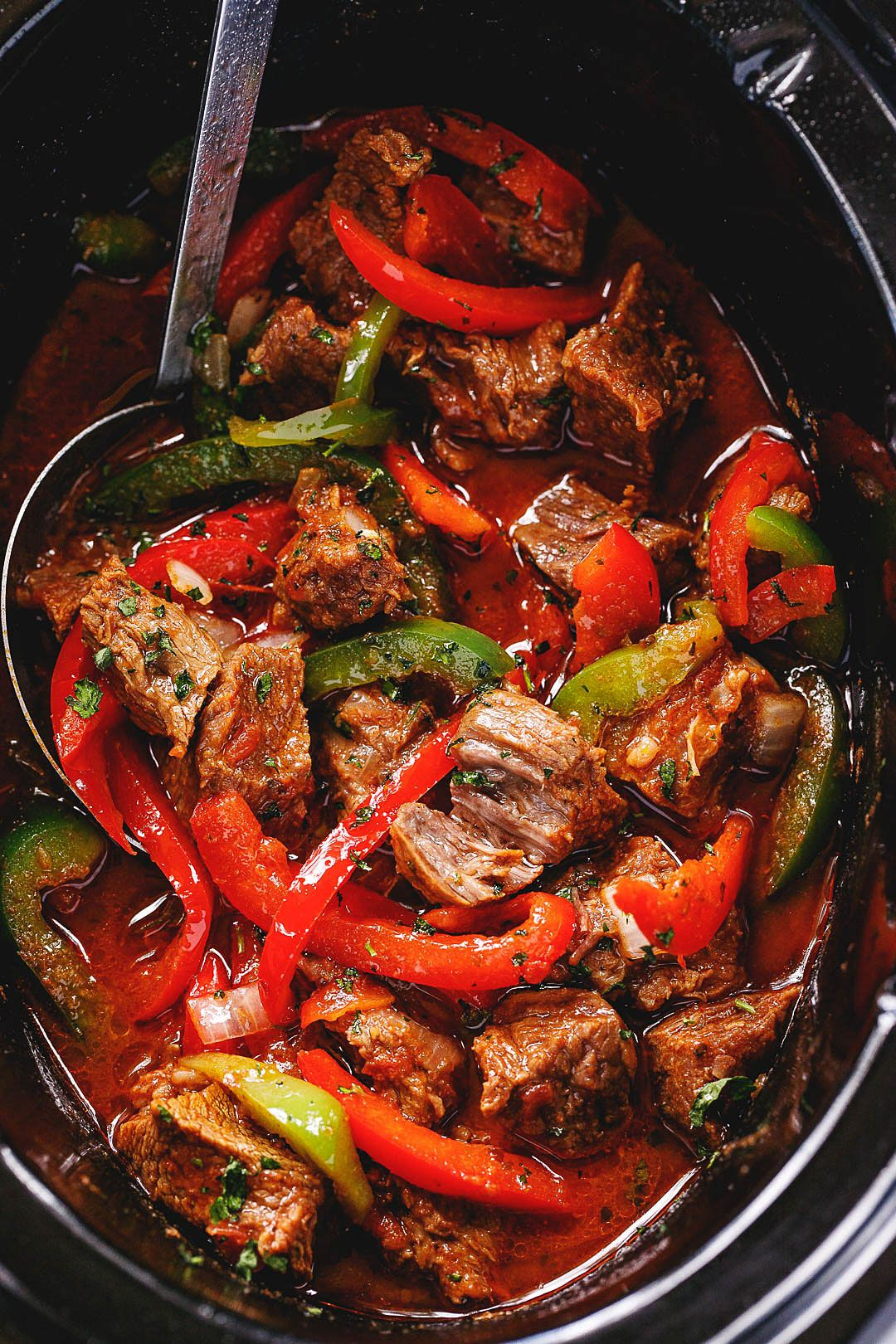 Crock-Pot Steak Fajita