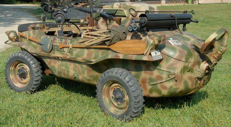 Balazs Tabanyi - Volkswagen type 166 Schwimmwagen military