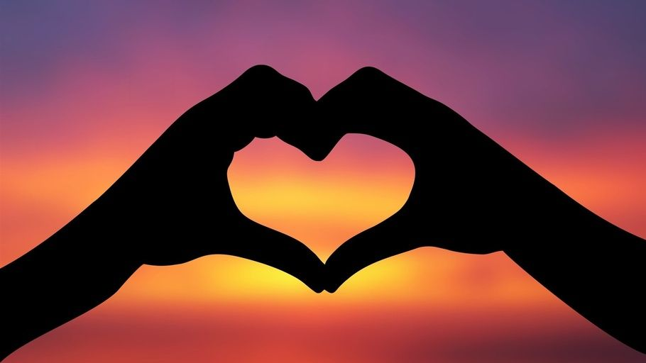 heart, hands, heart, the sky, silhouette, love, love | Love backgrounds,  Heart wallpaper hd, Heart pictures