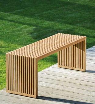 Gartenbank Teak Tivoli 120 Cm Im Greenbop Online Shop Kaufen Diy Gartenmobel Gartenbank Holz Gartenbank