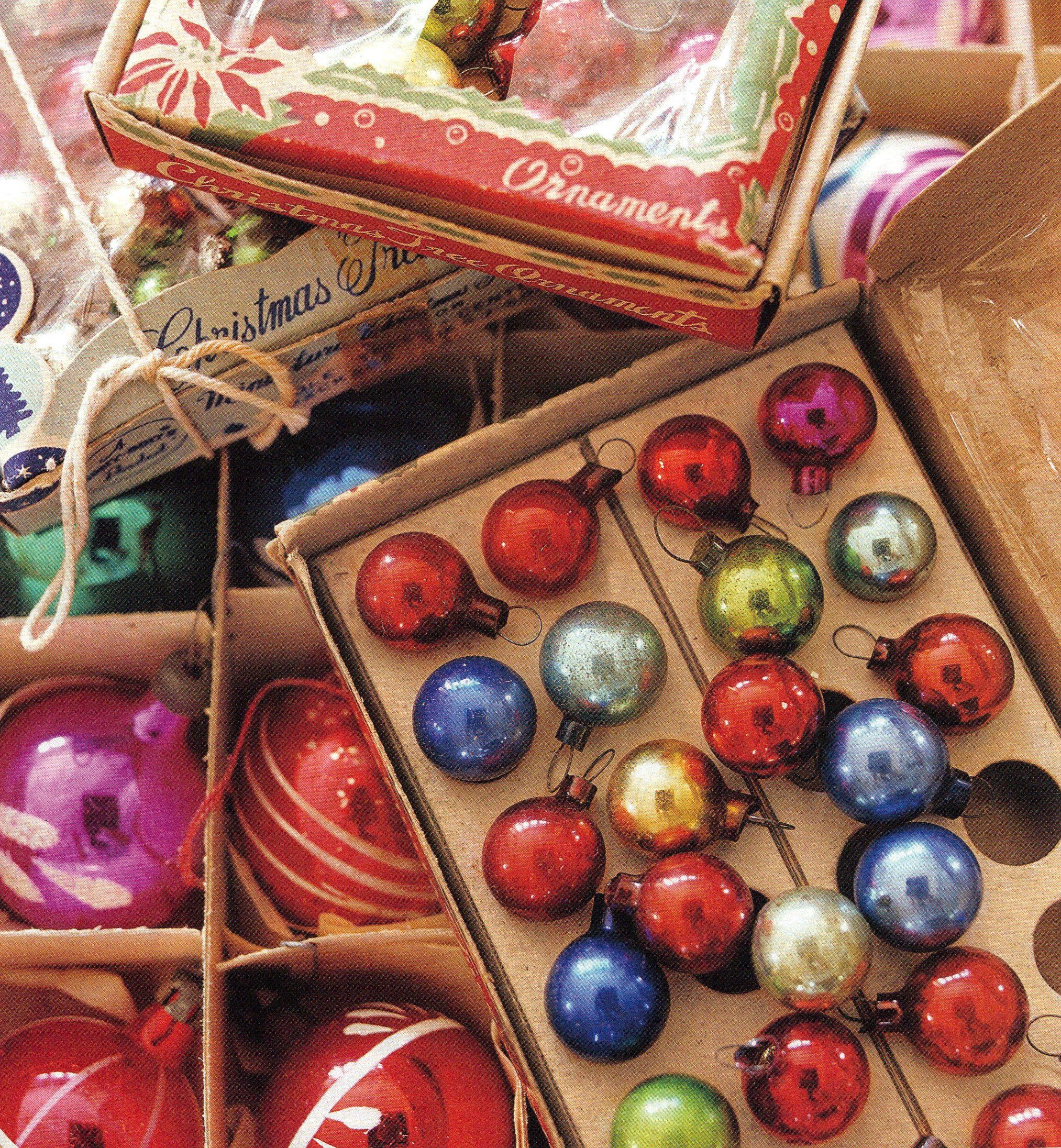 Vintage ornaments- so many on eBay!