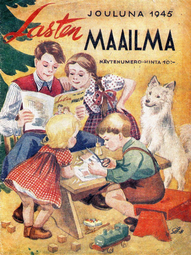 Lasten Maailma Lehti Kvaak Fi In 2020 Nostalgia Poster Historian